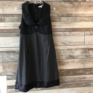 Matty M dress black sleeveless medium